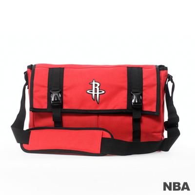 NBA-休士頓火箭隊功能性大郵差包-紅色