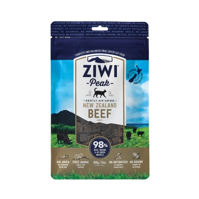 ZiwiPeak巔峰 98%鮮肉貓糧*牛肉400G