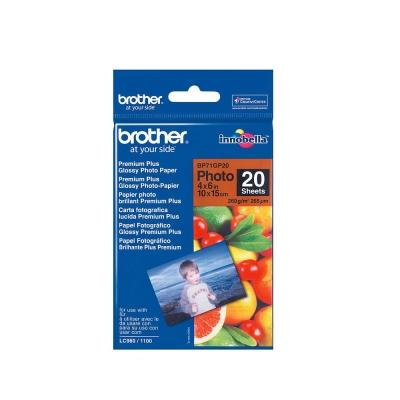 Brother 4x6 特級光面相紙 (20入)
