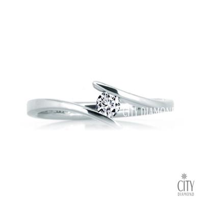 City Diamond『簡單愛』12分鑽戒