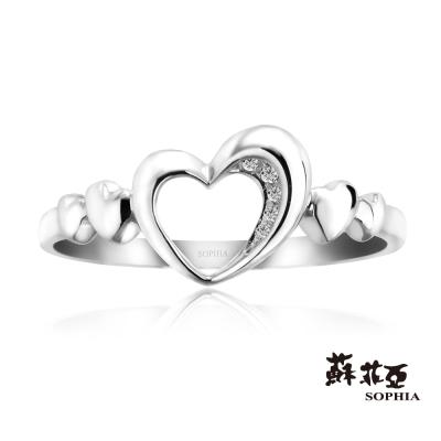 蘇菲亞SOPHIA 鑽戒- 心連心鑽石戒指