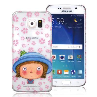 幾米-Samsung-S6-透明手機殼-藍帽小完美