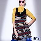 Gennies-010系列-U領蝴蝶結孕婦背心洋裝(T2206)