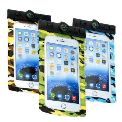 DataStone 手機防水袋/指南針型/可觸控 4.7吋以下手機通用-迷彩系列