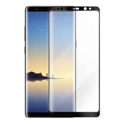 Metal-Slim Samsung Galaxy Note 8 3D曲面滿版玻...