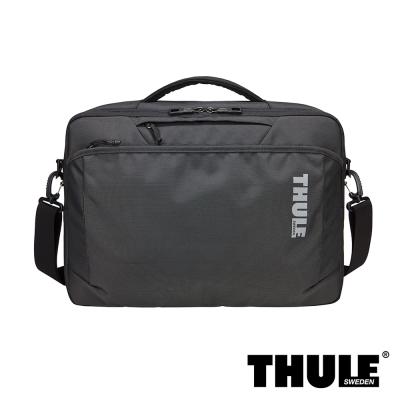 Thule Subterra 雙層電腦公事包(暗灰/15 吋筆電適用)
