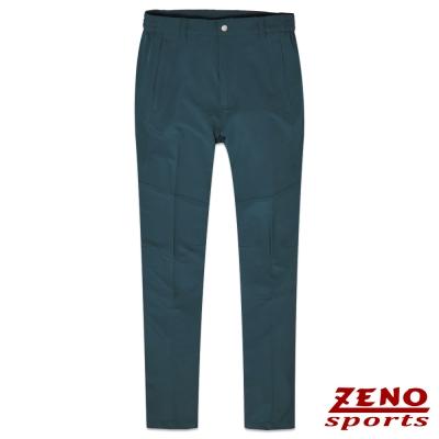 ZENO 抗UV吸排四面彈力休閒褲‧暗藍M~3L