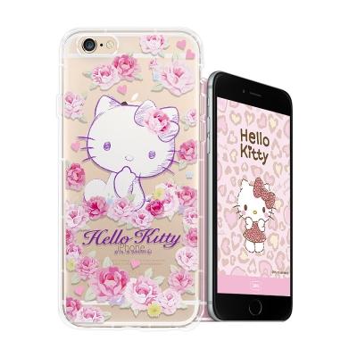 三麗鷗授權 Hello Kitty iPhone8/iPhone7空壓手機殼(玫...