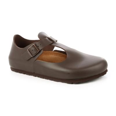 勃肯BIRKENSTOCK 065401。巴黎 經典包鞋(咖啡)