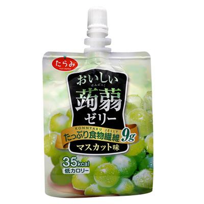 Tarami達樂美 果凍飲便利包-青葡萄(150g)