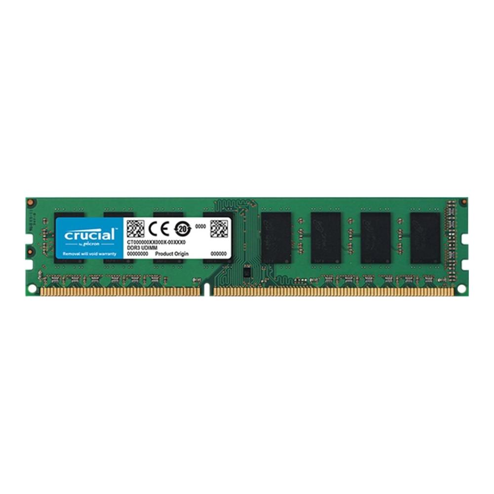 Micron Crucial DDR3 1600/4GB RAM(雙面顆粒)(雙電壓)