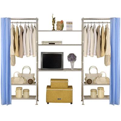 巴塞隆納-W3型60+90+60置物/衣櫥收納架