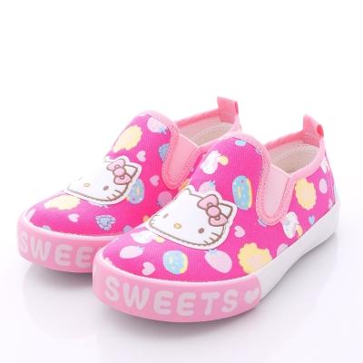 HelloKitty童鞋-甜心午茶易穿脫款-715917桃(中大童段)N