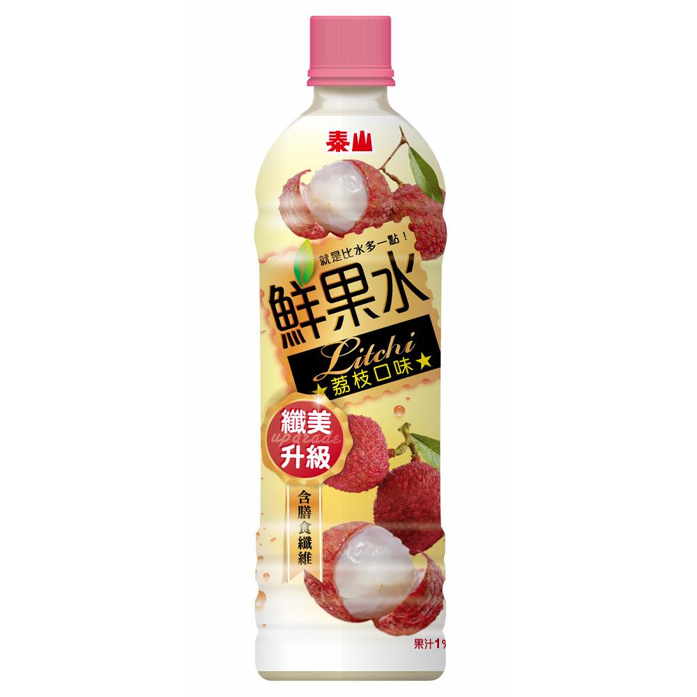 泰山鮮果水荔枝口味590ml(4入)