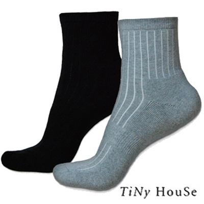 TiNyHouse 厚底舒適運動襪 紳士襪 羊毛襪 開學慶自由選 6 件