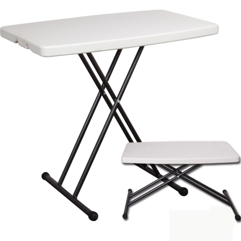 多用途塑鋼桌/補習班專用桌/電腦桌/野餐桌/露營桌/折合桌78*50