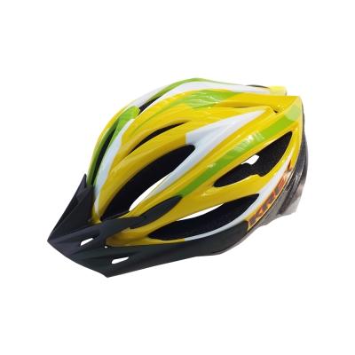 KREX CS-1800 拉風款自行車專用安全帽 黃色