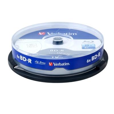 威寶 Life版 藍光 6X BD-R 25GB 桶裝 (100片)