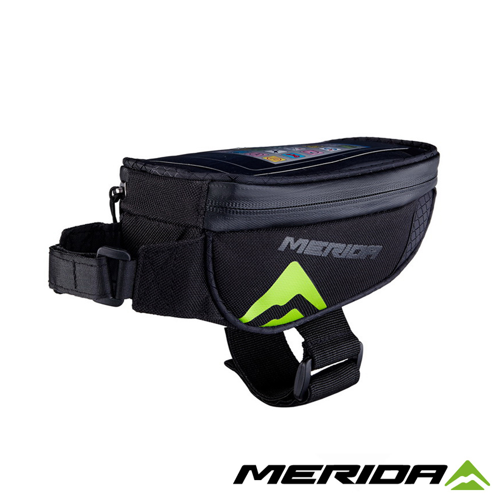 《MERIDA》美利達 2276003432 上管袋 黑/綠