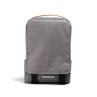 RAWROW-迷霧系列-方型扣環筆電後背包-霧灰-RBP310GY