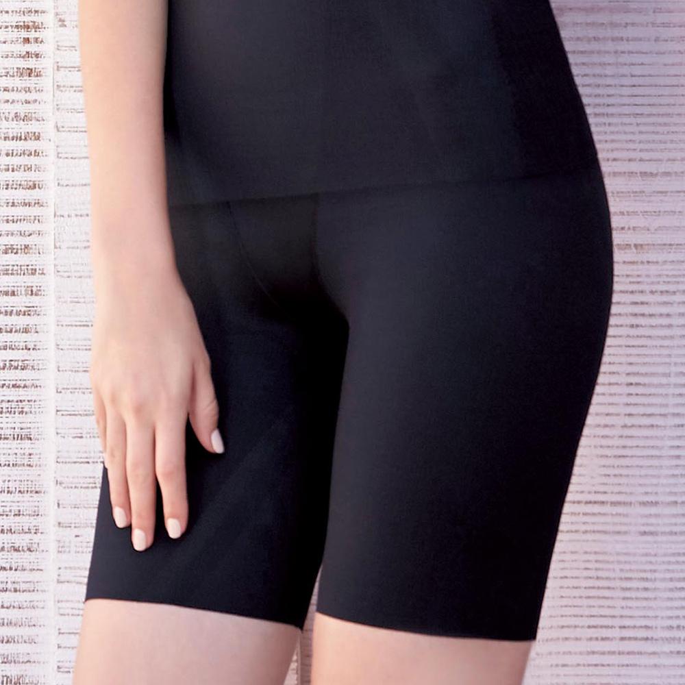 曼黛瑪璉-美型顯瘦 高腰中管束褲 S-XL(黑)