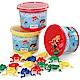 瑞典Viking Toys維京玩具-彩色小青蛙(桶) product thumbnail 2