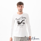 Earl Jean 煙斗網版T恤-男