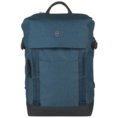 VICTORINOX Flapover Laptop 15吋電腦後背包-藍 @ Y!購物