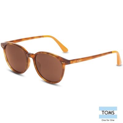 TOMS BELLINI  橘色琥珀經典百搭款 太陽眼鏡-中性款 (10002060)