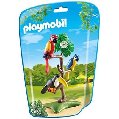 playmobil-可愛鸚鵡
