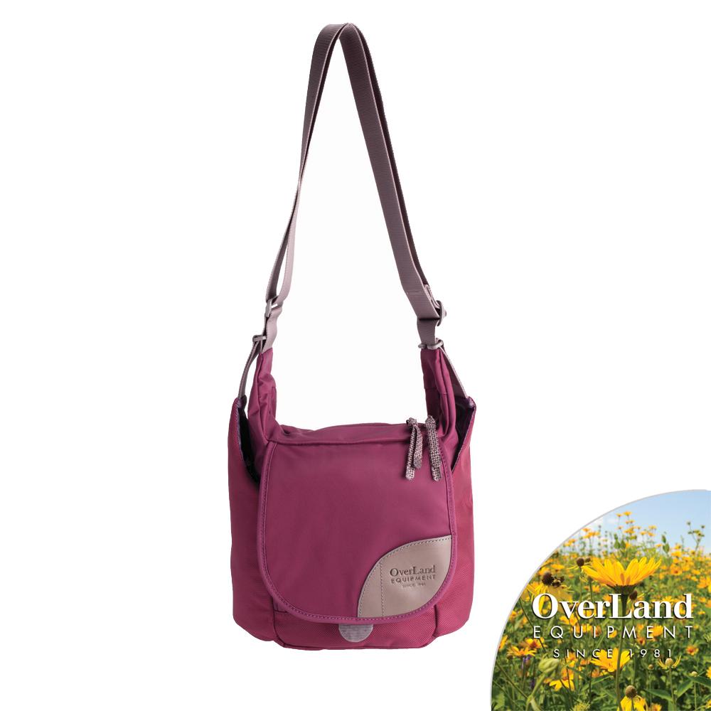 【OverLand】Donner側背包-紫紅