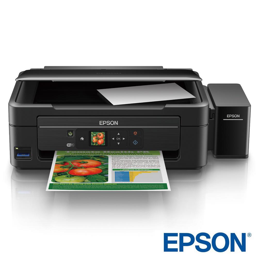 EPSON L455 WiFi六合一連續供墨印表機(1.44吋螢幕)