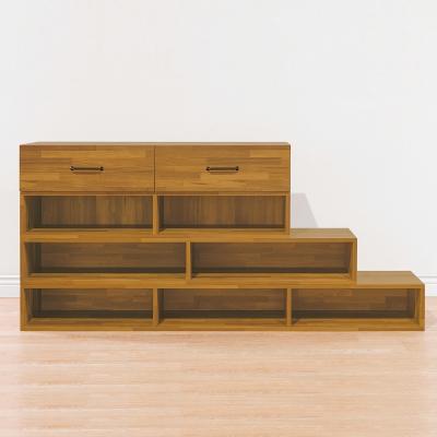 Bernice-4層階梯式組合鞋櫃-182x37x84cm