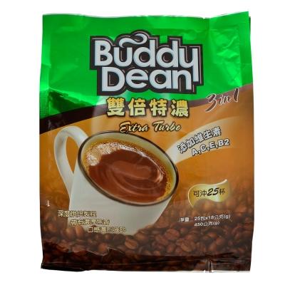 Buddy Dean 巴迪三合一咖啡-雙倍特濃(18gx25包)