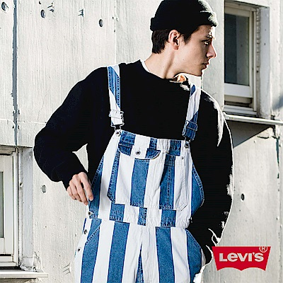 牛仔褲 男款 Overall 吊帶褲 /銀標Silver Tab系列 海洋風- Levis