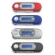 DWA31流線款 螢幕插卡式MP3隨身聽(可換電池)(加16GB記憶卡)加送4大好禮 product thumbnail 1