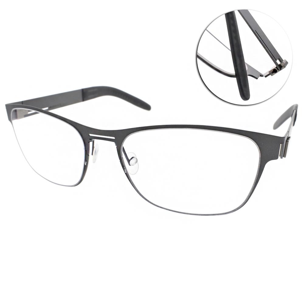 MARKUS T眼鏡 無螺絲眼鏡結構/深灰#T2 271 215-215