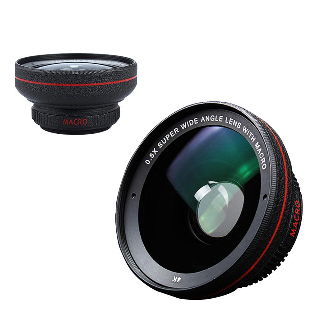 ANTIAN 0.5X超廣角+15X微距手機大鏡頭 4K高清專業攝影自拍通用鏡頭