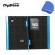 DigiStone 超薄型鋁合金18片裝雙層多功能記憶卡收納盒(2SD+16TF)-藍色 product thumbnail 1