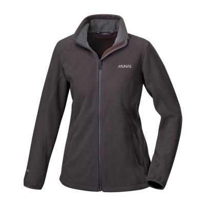 【ATUNAS 歐都納】女款WINDSTOPPER防風保暖外套A4-G1568W深灰