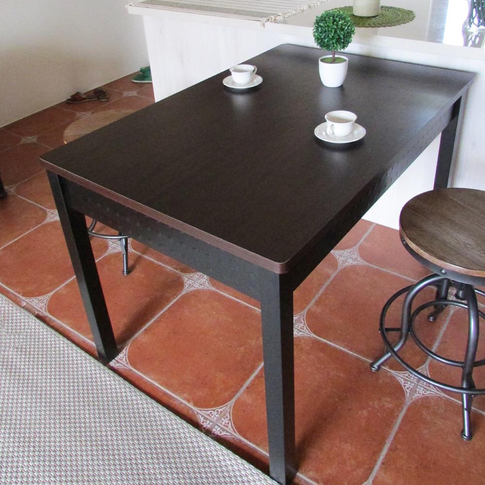 Amos-120x80大桌面會議桌-胡桃木色D120*W80*H78 CM