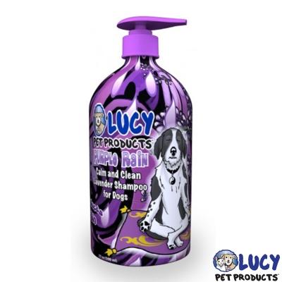 LUCY 美國原裝 寵物天然沐浴精 紫薰衣草 500ml