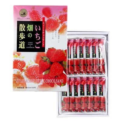 日本草莓巧克力甜點禮盒-112g