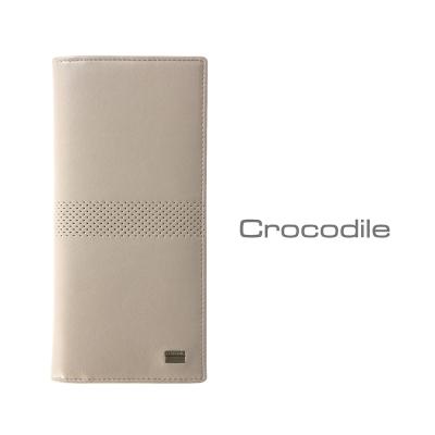 Crocodile Punch 系列納帕牛皮長夾 0103-07901