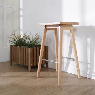 BuyJM 後現代實木吧檯椅/高腳椅-免組裝