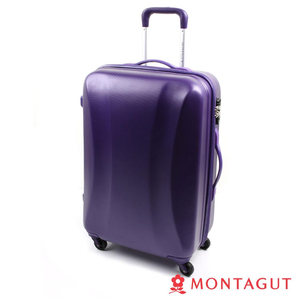 MONTAGUT夢特嬌 24吋 強化系ABS 行李箱