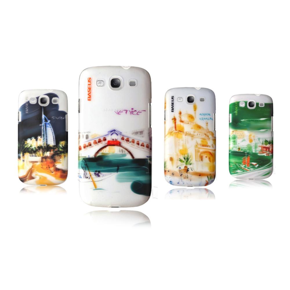BASEUS Samsung i9300 Galaxy S3烏托邦異國風情硬質保護殼