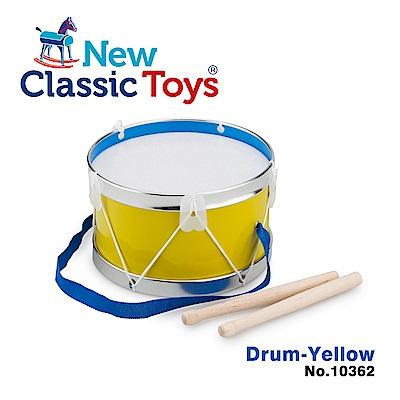 【荷蘭New Classic Toys】幼兒音樂鼓-琥珀黃 - 10362