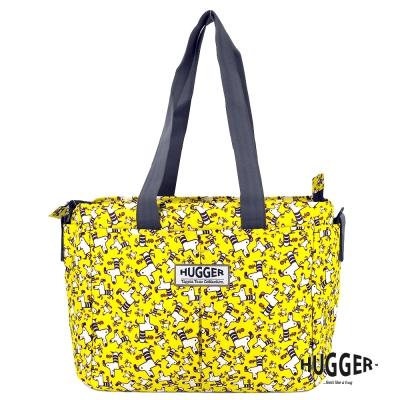 英國Hugger 超輕量時尚媽媽包-小黃狗