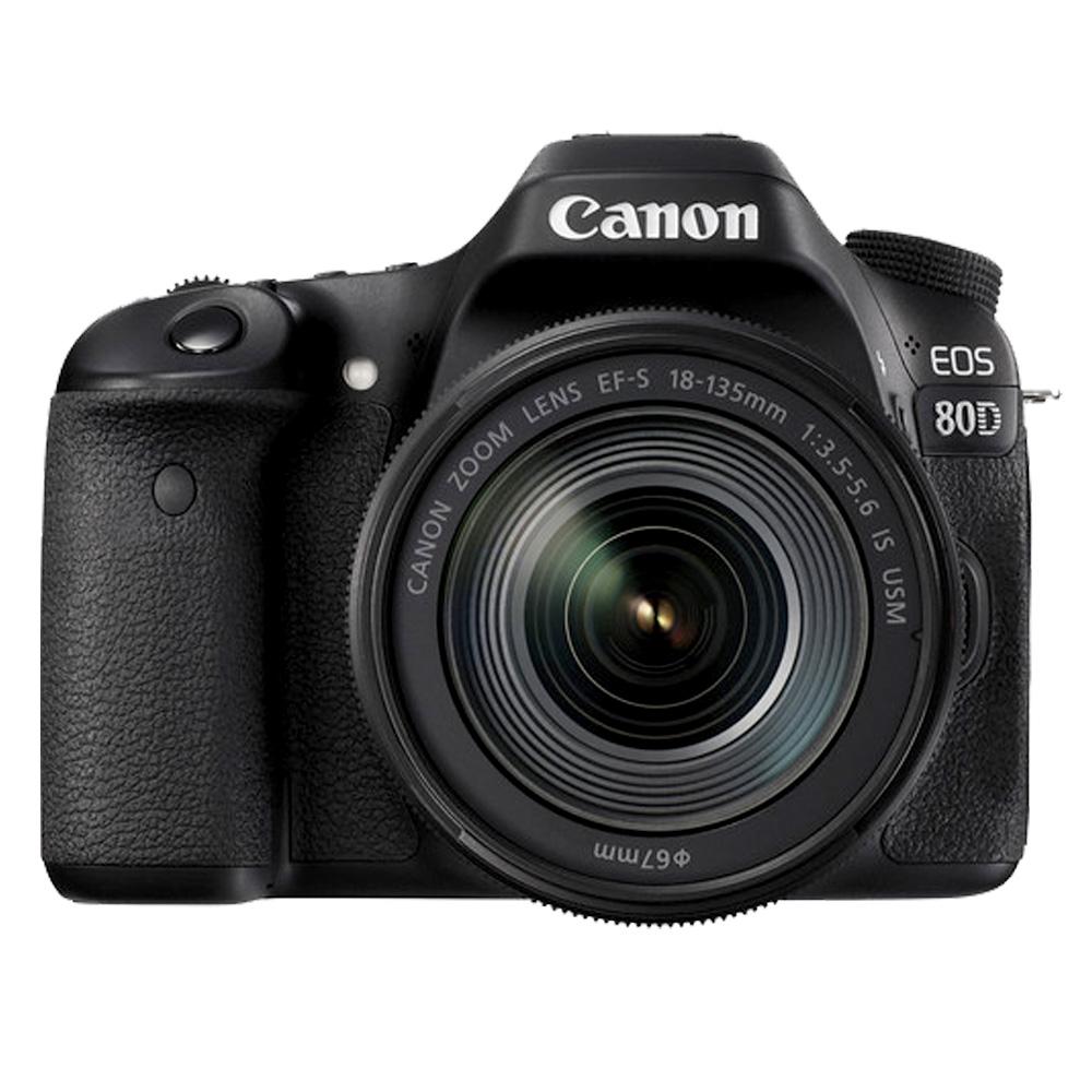 Canon EOS 80D 18-135mm IS USM( 公司貨)